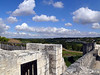 View from the top of the city walls- Provins, France