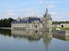 "Chantilly- View of chateau from across the pond on the way to the ""stables""."
