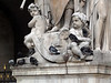 Statues outside at Opera Garnier