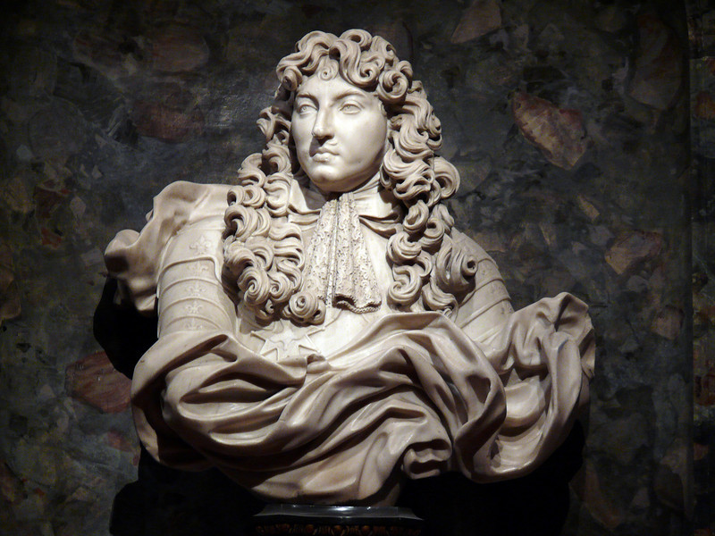 Sculpture of Louis XIV- Vaux le Vicomte