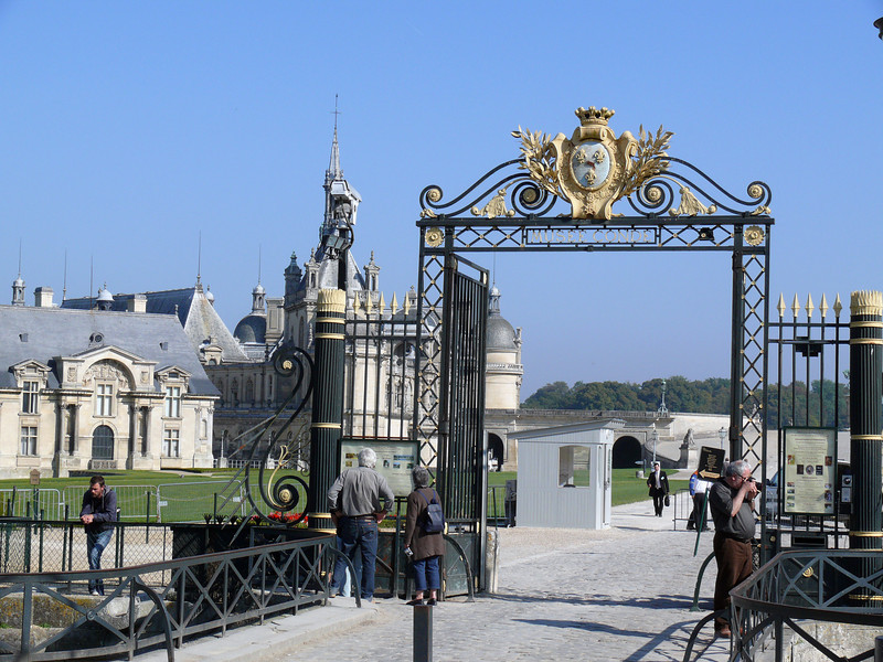 Chateau Entrance- Chantilly