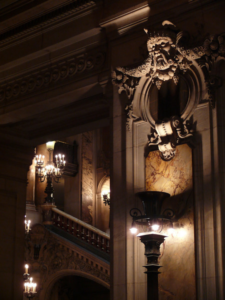 Indoor Detail. Opera Garnier- Paris