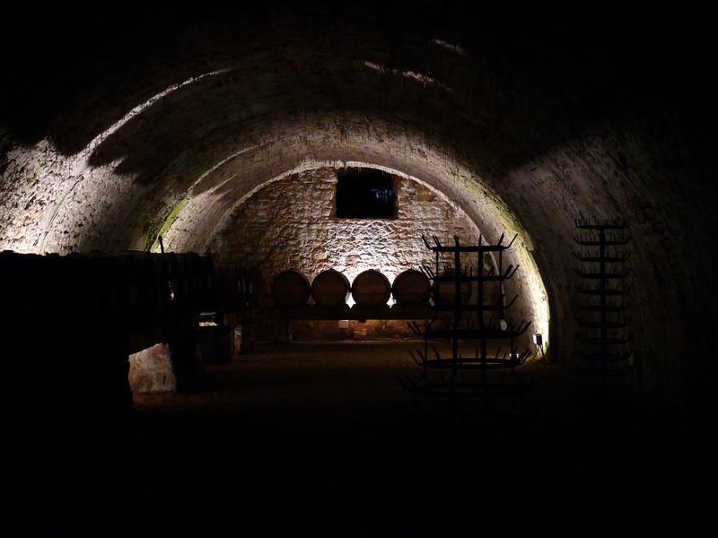 Wine celler- Vaux Le Vicomte