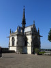 Chapel where Leonardo da Vinci is buried- Chateau Royal d'Amboise