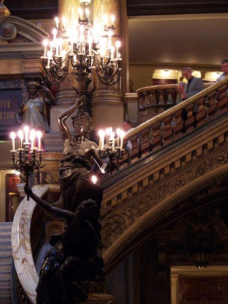 Indoor Detail. Opera Garnier- Paris