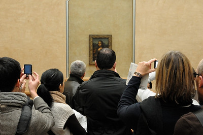 The Louvre. The Mona Lisa.