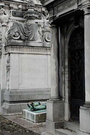 Père Lachaise Cemetery.