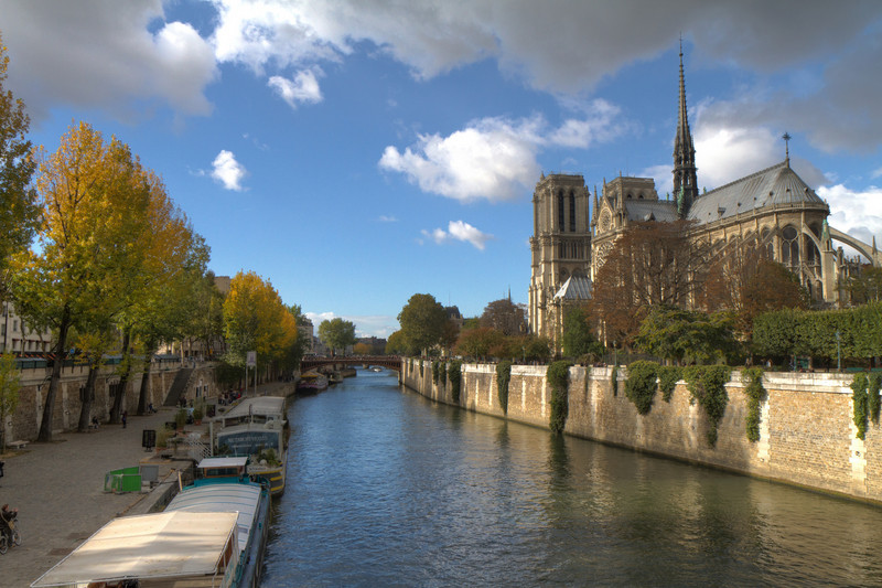 The Seine and Notre Dame