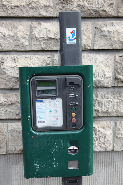 French parking meter...