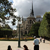 Notre Dame, seen from the backside...