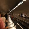 Endless escalators in the Paris metro-system...