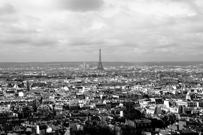 View from Sacre-Coeur (April 2010)
