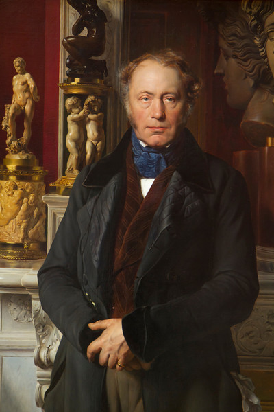Portrait of Comte James Alexandre de Pourtales Gorgier (1776 - 1855)