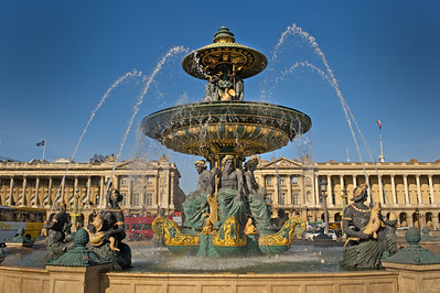 Concord and Tuileries Garden