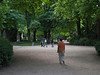 Walking in the Luxembourg Gardens