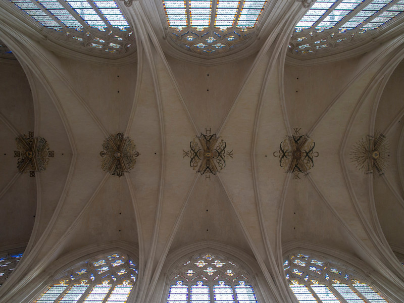 Chapel Ceiling- Chateau Vincennes