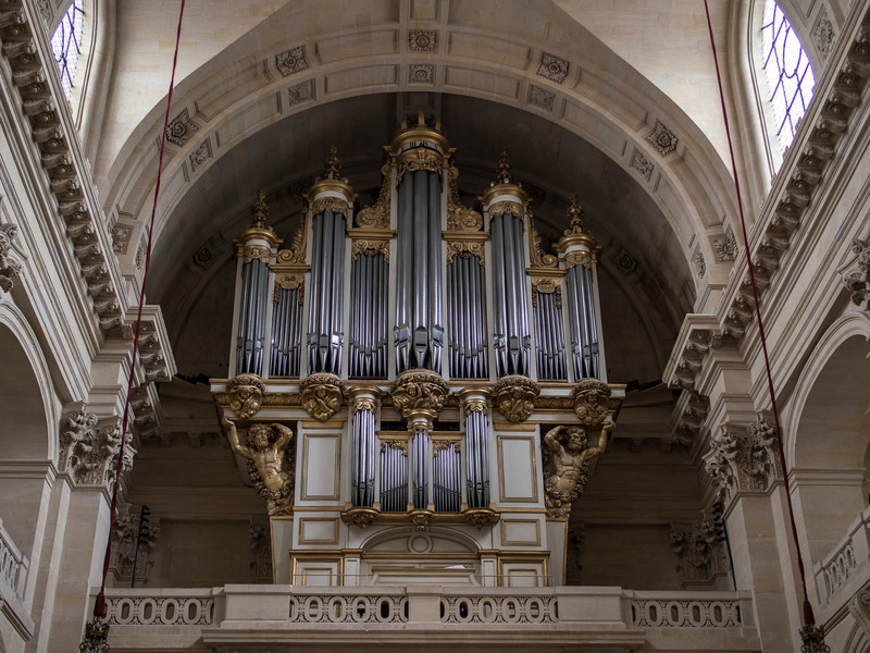 Organ- Soldiers Chapel- Invalides