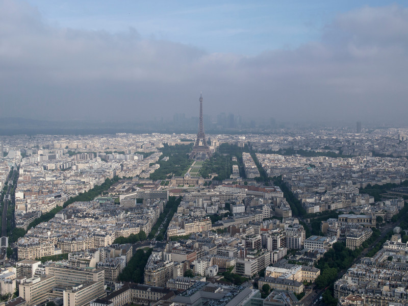 From the 56th Floor on the Montparnasse Tower.