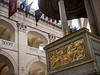Close up of the Pulpit- Soldiers Chapel at the Invalides