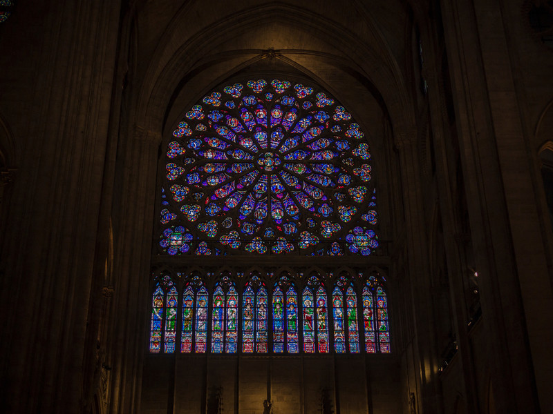 """South Rose Window- Notre Dame (1254)..<br /> <br /> <a href=""""http://www.notredamedeparis.fr/South-Rose-Window"""">http://www.notredamedeparis.fr/South-Rose-Window</a>"""