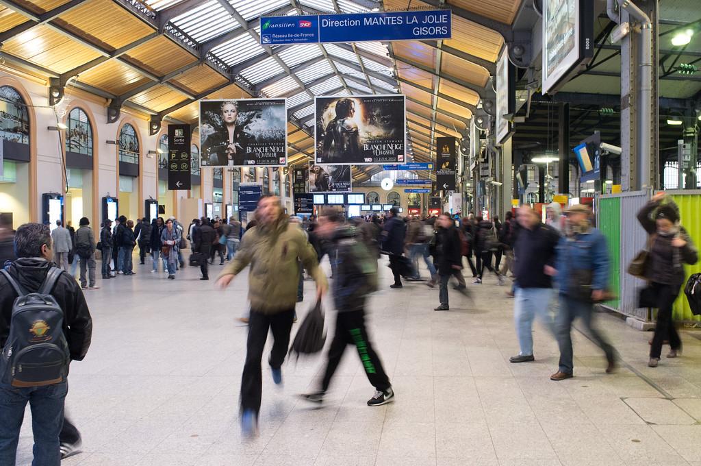 Gare Saint Lazare in Paris