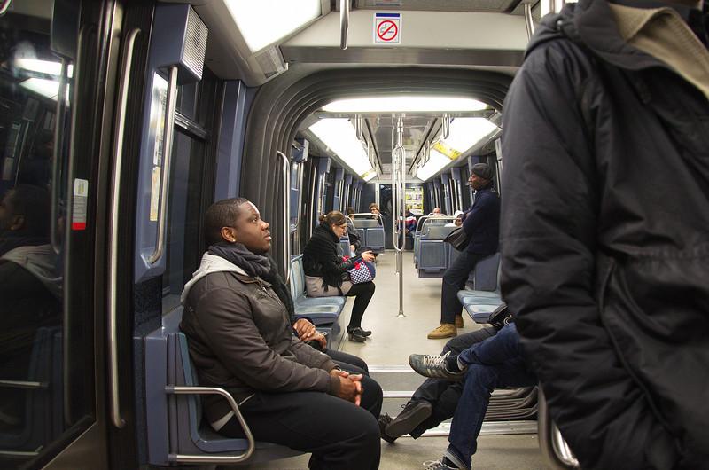 Metroen, Paris