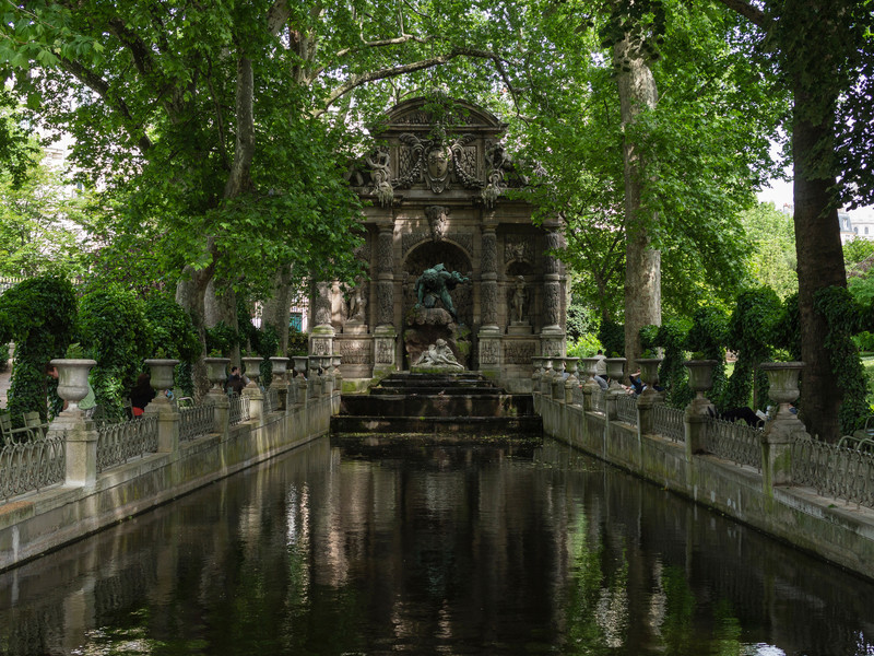 Medici Fountain- Luxembourg Gardens