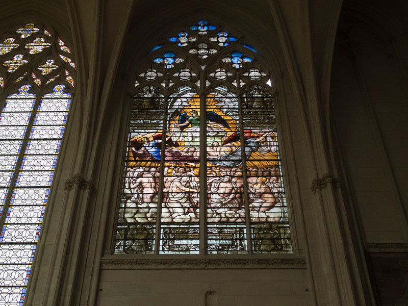 Stained Glass- Chapel at Chateau Vincennes.