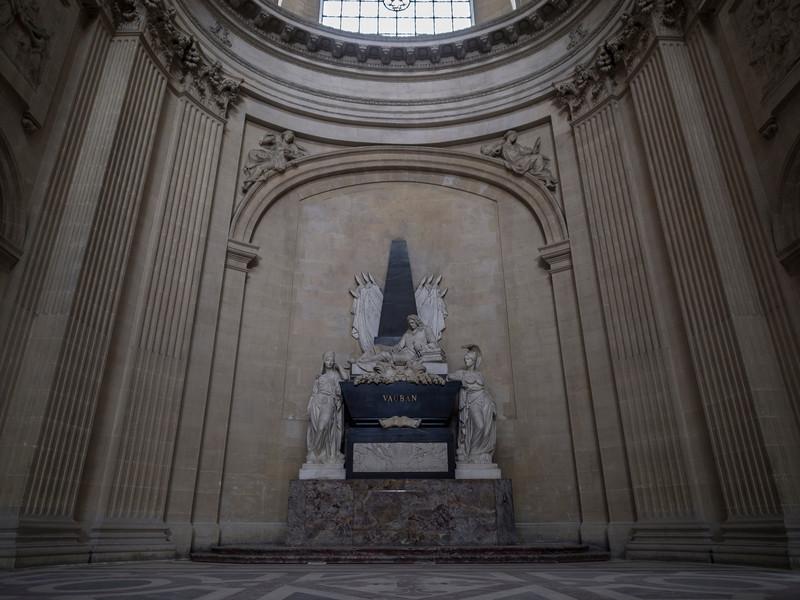 "Vauban's Tomb- Invalides<br /> <br />  <a href=""http://en.wikipedia.org/wiki/S%C3%A9bastien_Le_Prestre_de_Vauban"">http://en.wikipedia.org/wiki/S%C3%A9bastien_Le_Prestre_de_Vauban</a>"