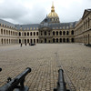 Invalides Army Museum, looking towards the gold dome of Napoleon's Tomb.