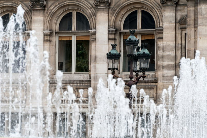 Fountains at Hotel de Ville