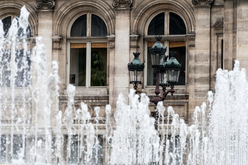 Fountains at Hotel de Ville