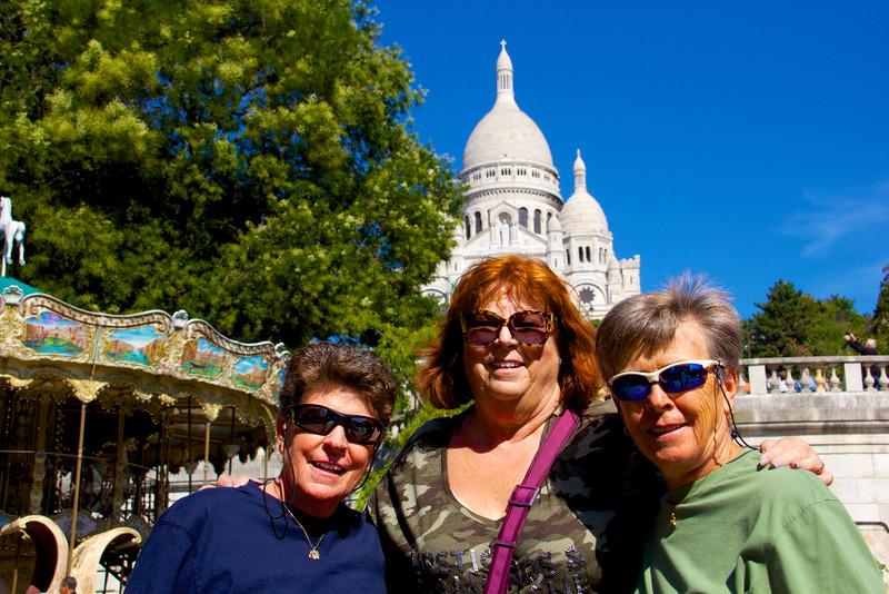 Jody, Jeri & Cher, Montmartre