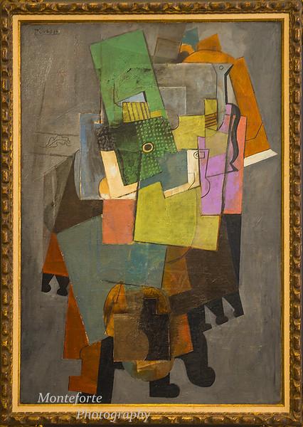 Paris France April 2016 Picasso museum