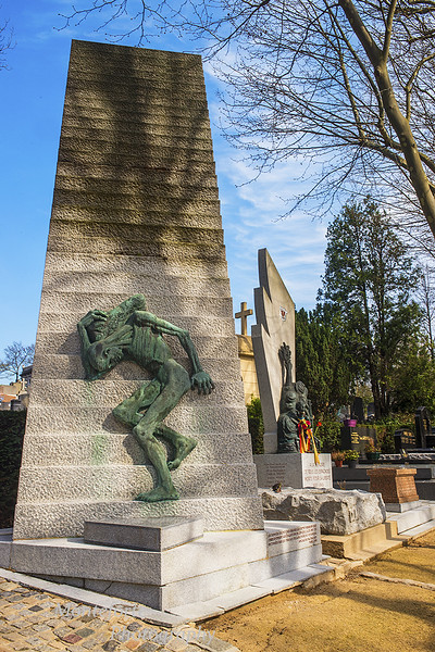 Pere Lachaise Cemetery Paris France 2016