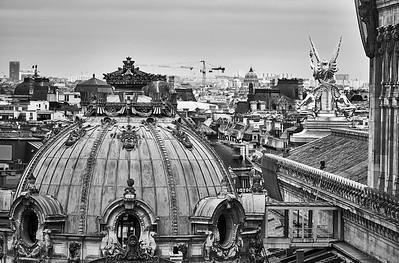 Oct. 5,  2017 - Paris   Grande Boulevards Galerie Lafeyette- view from roof   Credit- Robert Altman