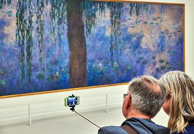 Oct. 5,  2017 - Paris   Orangerie Monet    Credit- Robert Altman