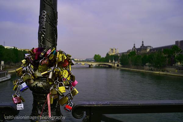 2018_Paris_Locks on the Pont des Artist