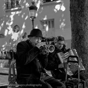 2018_Paris_Musicians, Montmartre