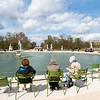 Ein Teich im Jardin des Tuileries