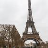 Eiffelturm vom Camp du Mars