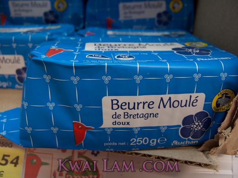 Butter #1: Beurre Moulé de Bretagne doux
