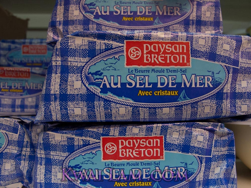 Butter #4: Beton Butter au Sel de Mer (with sea salt)