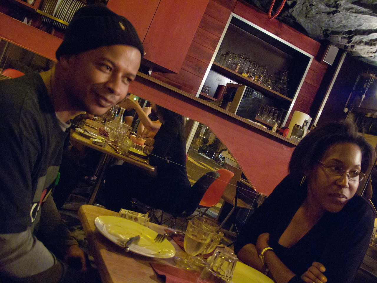 A delicious evening with new friends at Diet Ethique, rue de Chambery, Paris