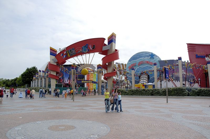 Entry to Disney Village (Hotels, Food, etc)