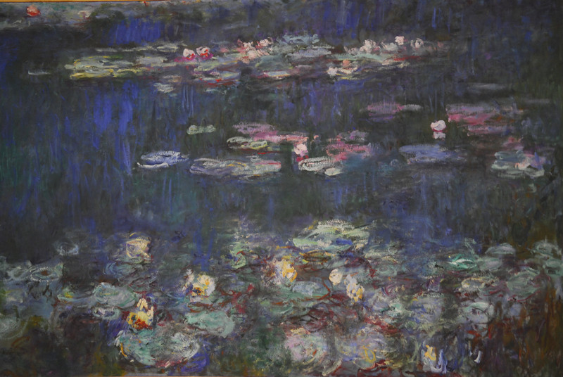 Details, Monet's Water Lillies, Paris