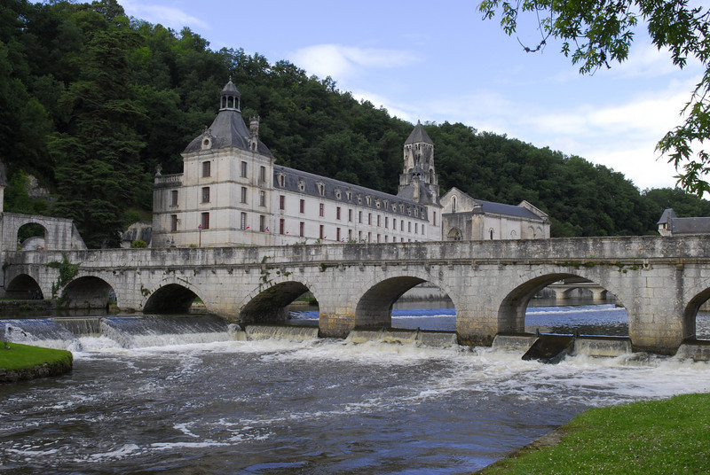 Brantome Abbey, France