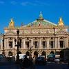 L'Opera resplendent in the Spring sunshine