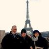 Hugh, Eugene & Dianne on the Trocadero