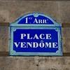 Place Vendôme sign